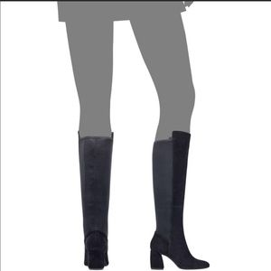 Nwt Nine West Kerianna Tall Suede Boot